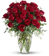 Forever Beloved-30 Long Stemmed Red Roses