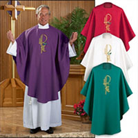 Vestments and Chalices